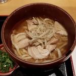 釜あげうどん はつとみ - 【2016/12】煮豚うどん