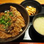 北海道マルハ酒場 - 牛カルビ丼780円(税込)
