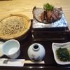 小松庵 総本家 - 料理写真:牛フィレ肉朴葉焼きとお蕎麦(生粉打ち〜十割蕎麦)