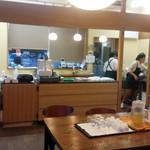 カメヤ 柿田川豆腐館 - 販売カウンター
