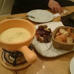 アペリティフ - チーズフォンデュ