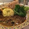 イヌピーピー カレー - 料理写真:3種あいがけ