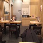 銀座 篝 - テーブル席