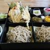 清水そば そば峠 - 料理写真:蕎麦弁当。