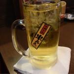 薄利多賣半兵ヱ - 緑茶ハイ