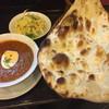 マサラ - 料理写真:キーマカレーとナン