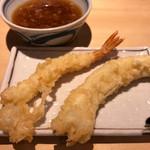 揚げたて天ぷら定食 まきの - 海老・いか