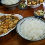 中華料理叙香園 - 麻婆豆腐定食