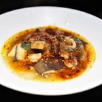 わさ - 茸と牡蠣の辛味煮込み