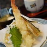 でかねた寿司 - 金沢ランチ1000円の天ぷら
