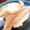 回転寿司喜楽 - 料理写真:熊本県産いとより鯛炙り ¥230 (税別)