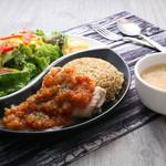 Gluten Free Dining Tsukuru - チキンのワンプレートランチ
