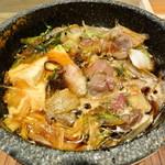 ジビエノ小屋 - 猪鍋 (すき焼き)