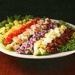 ハードロックカフェ - 7種類の素材をトッピングしたコブサラダ