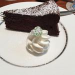 香月珈琲店 - ケーキ アップ。