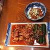 焼肉・明洞館 - 料理写真:チャンジャ、キムチ盛り合わせ