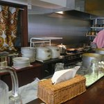 カシミール - 厨房