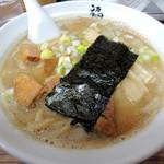 麺や 福座 - 2016年12月4日(日) 煮干し豚骨(800円)