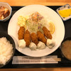 物豆奇 - 料理写真:かきフライ定食 税込1,000円