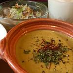 香辛喫茶 Lion Curry - 料理写真:海老のマイルドグリーンカレー