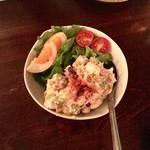 ブロシェット ボン ボン シン - ごろごろ野菜のポテトサラダ @680円