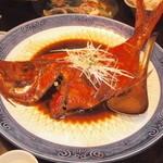 おさかな処 かね吉 - 金目鯛の煮つけ