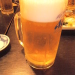 おさかな処 かね吉 - 生ビール