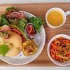ぷちぽんとkitchen+farm - 料理写真:彩り野菜のフォカッチャランチ