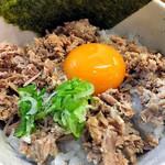 第一旭 - まかない丼(小)(2016年12月)