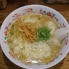 小川軒 - 料理写真:ワンタン麺