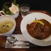 牛すじカレーとスープの店 オリーブ - 料理写真:オリーブランチセットの普通¥864-