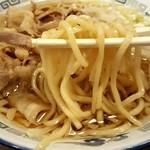 肉盛麺工房 ニク助 - 肉盛麺(2016.12)