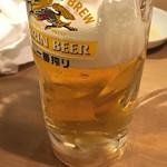 和牛焼肉じろうや 介 wagyu&sake - 撮る前に飲まれちゃった(^^ゞ