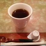 すし喜八 - ランチサービスのコーヒー