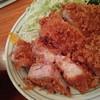 とんかつ河 - 料理写真:黒豚ロースカツ定食2800円