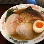 電撃屋台 クラッシュ - 1612 電撃屋台クラッシュ 魚介中華そば@690円 鰹の味が!!