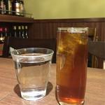 60384971 - 水 + プーアル茶