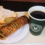 珈琲問屋 - コーヒーとパン2ケ