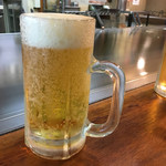 ロペズ - まずはビール(°▽°)プシュ--