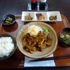 おうちごはん ハレ - 料理写真:「生姜焼き定食」700円