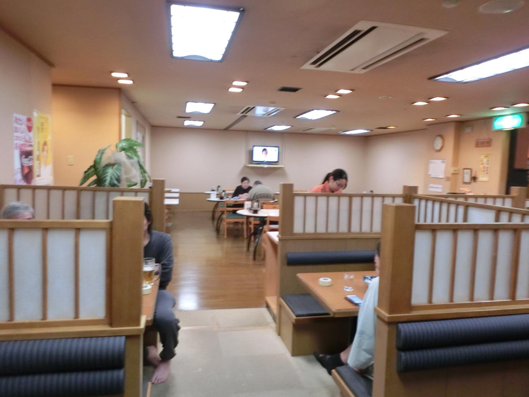 熊本城温泉 城の湯のレストラン