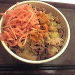 すき家 - 牛丼(並)