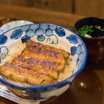 60410388 - 鰻丼(うなどん)、一式(ひとそろひ)