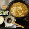長寿庵 - 料理写真:とろとろチーズのカレーうどん(ミニライス付き)¥900-