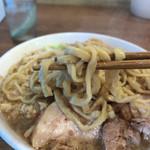 ラーメン荘 これが好きだから - 平太麺がいい ワシャワシャで豪快に食す