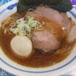 Menyaseiunshi - 料理写真:焼鯵正油らぁ麺