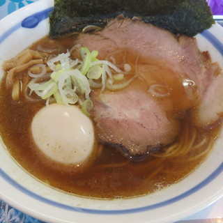 麺や 青雲志 - 料理写真:焼鯵正油らぁ麺