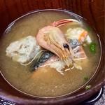 氷見魚市場食堂 海寶 - 味噌汁