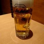 カレーうどん専門店「千吉」 - 生ビール