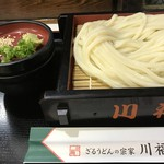川福 - 料理写真:ざるうどん